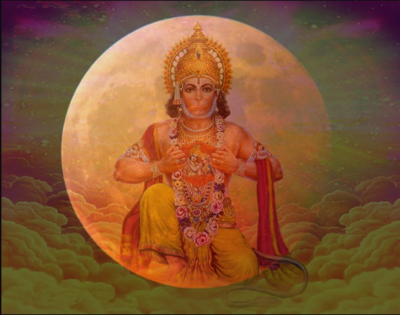 Blood Moon Lunar Eclipse on Hanuman Jayanti: April 4, 2015