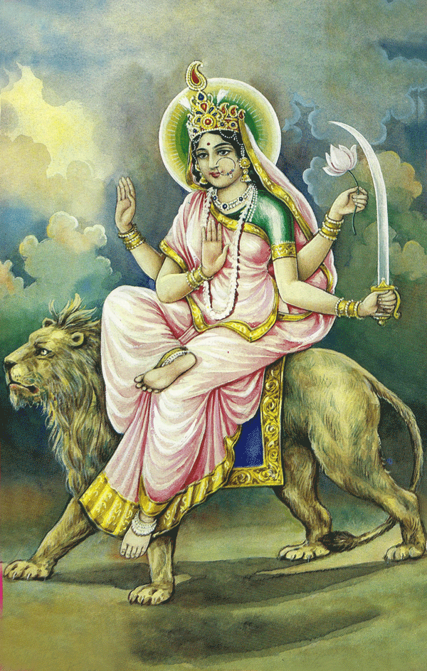 Sixth Day of Navaratri: Goddess as Katyayani
