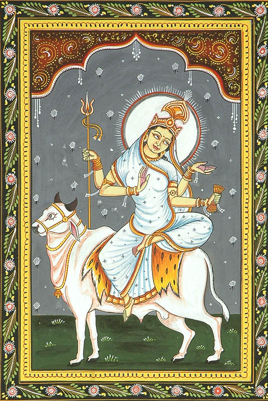 Eighth Day of Navaratri: Goddess as Mahagauri