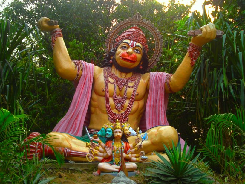 Full Moon and Hanuman Jayanti