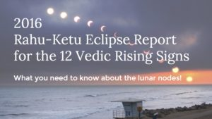 2016 Rahu-Ketu Eclipse Forecast for the 12 Vedic Rising Signs
