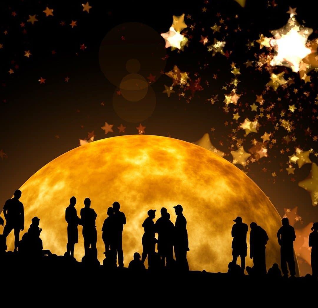 Full Moon in Mula in Sagittarius