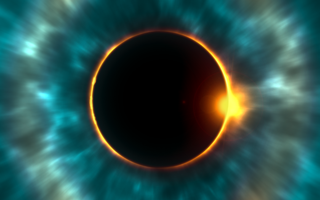 Total Solar Eclipse and New Moon, July 2nd, 2019
