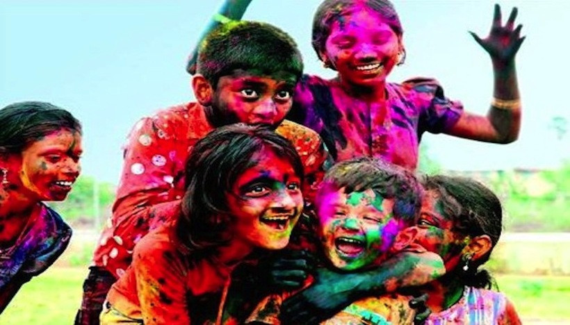 Happy Holi! Full Moon in Leo