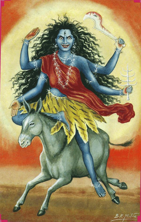 Seventh Day of Navaratri: Goddess as Kalaratri