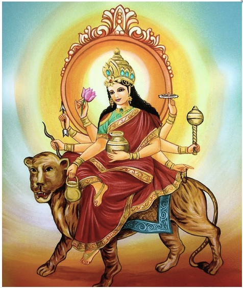 Fourth Day of Navaratri: Goddess as Kushmanda