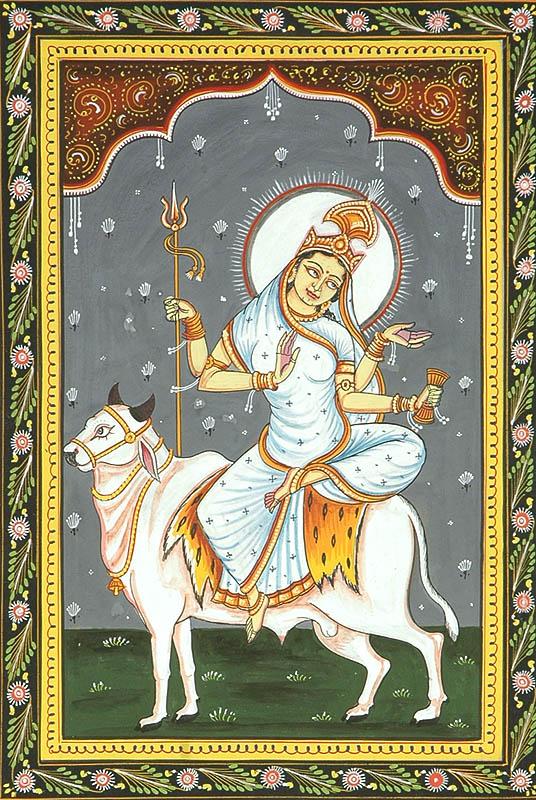 Eighth Day of Navaratri: Goddess as Mahagauri