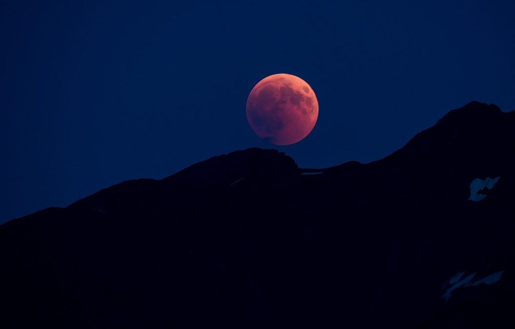 full Moon lunar eclipse and guru purnima